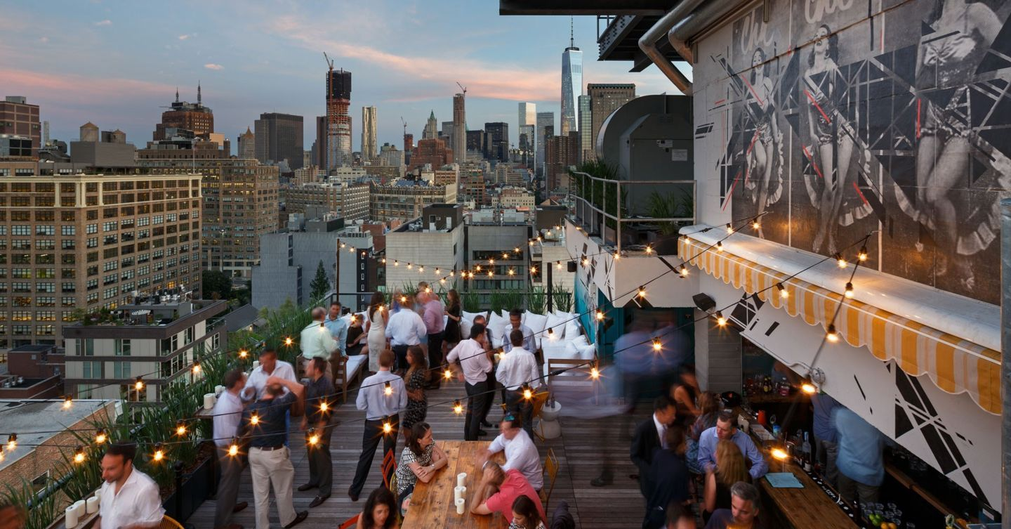 The Best Rooftop Bars In New York New York Rooftop Bar