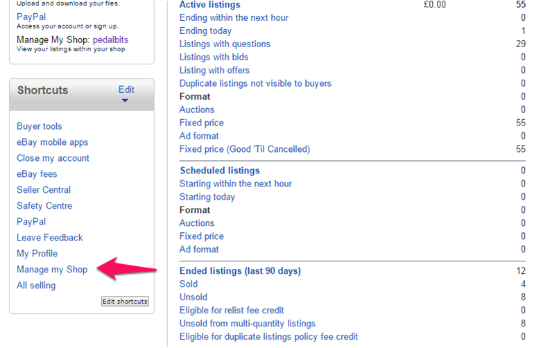 How do I Remove the Newsletter from my eBay Shop | eBay