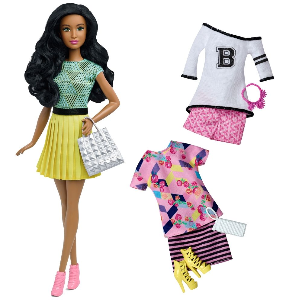 Barbie® Fashionistas™ 34 B-Fabulous Doll & Fashions ...