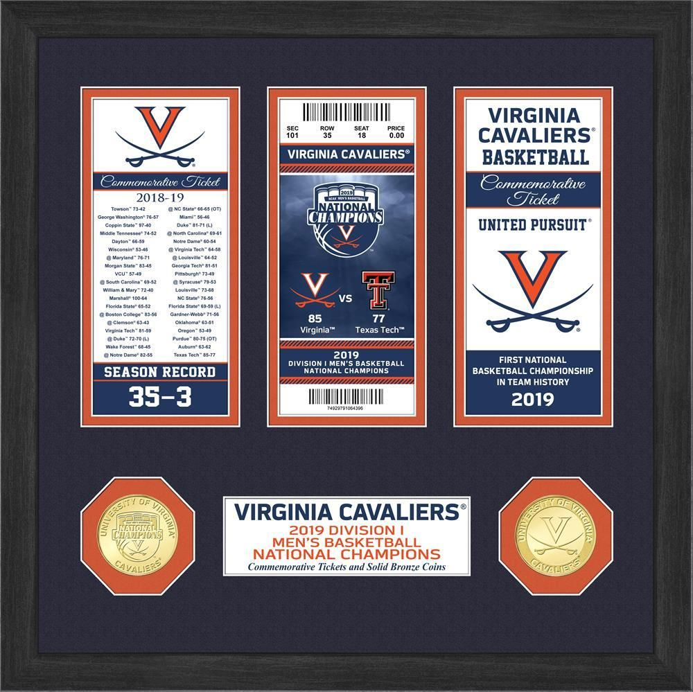 UVA Virginia Cavaliers 2019 NCAA Men's Basketball National