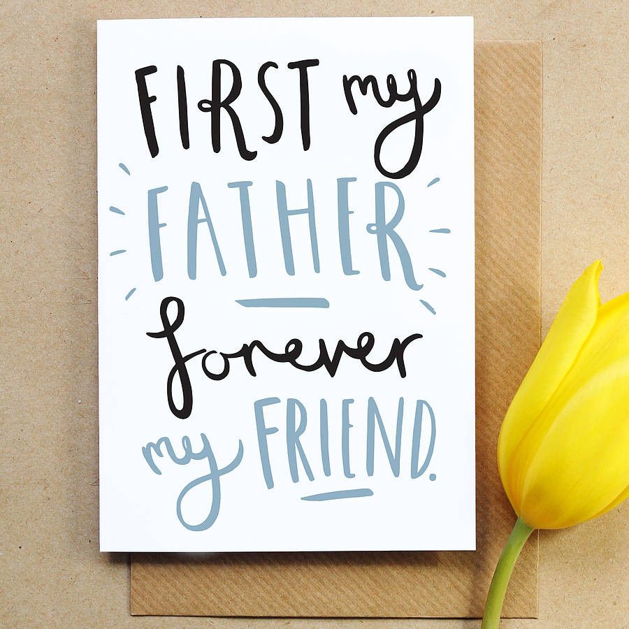 First my fathers day card pinterest kraft envelopes and envelopes first my fathers day card old english company hand lettered fathers day card m4hsunfo
