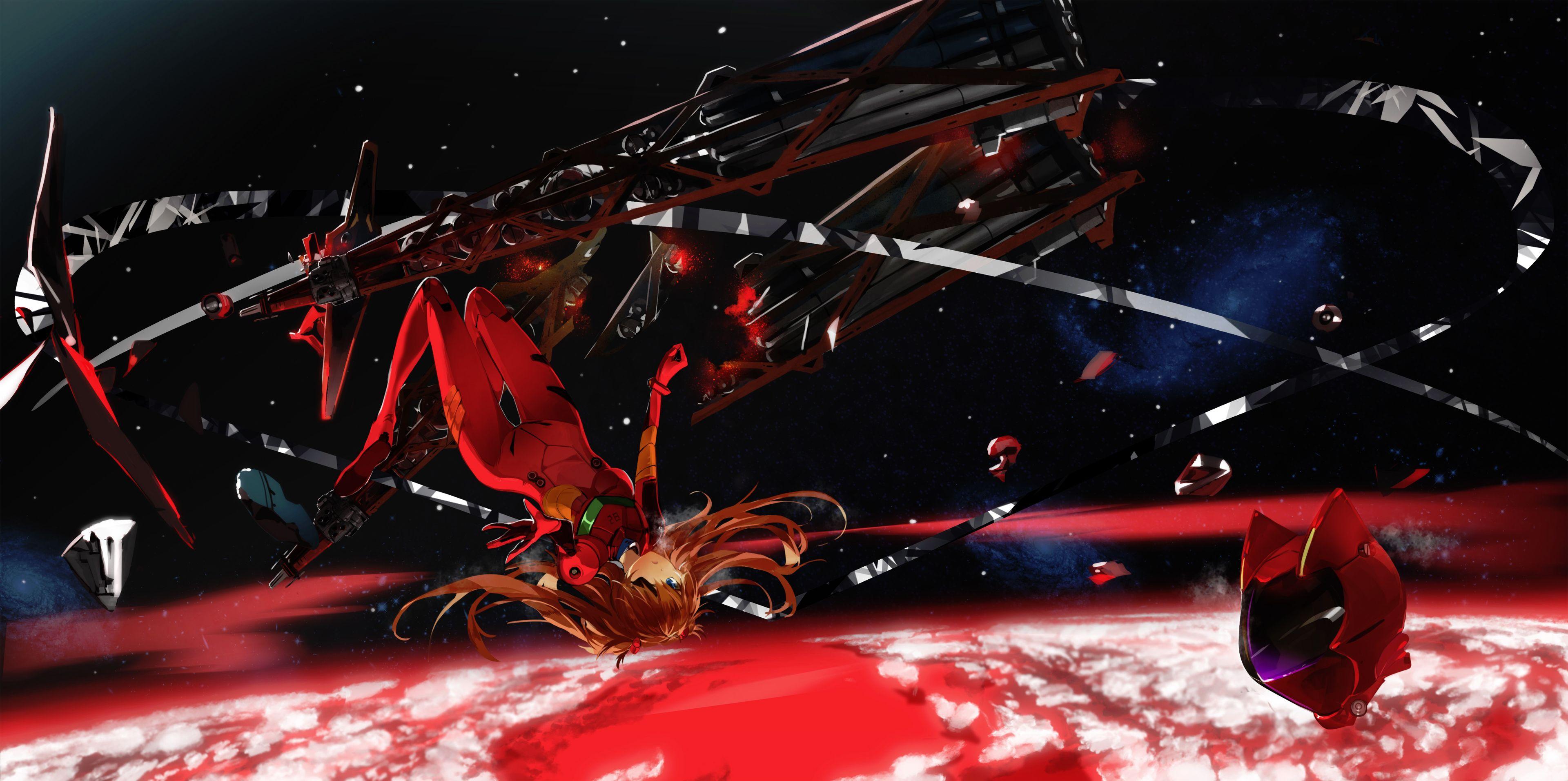 Neon Genesis Evangelion Asuka Langley Soryu Ayanami Rei Anime