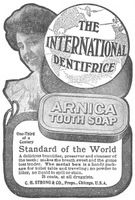 Arnica Tooth Soap 1904 Ad Picture