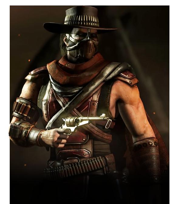Erron Black Mortal Kombat Wiki Fandom Powered By Wikia Mortal Kombat Mortal Kombat Characters Mortal Kombat Art