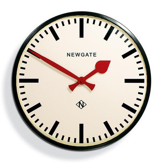 Putney Station Clock By Newgate Maxwell S Daily Find 06 10 13 Best Wall Clocks Large Wall Clock Newgate Clocks
