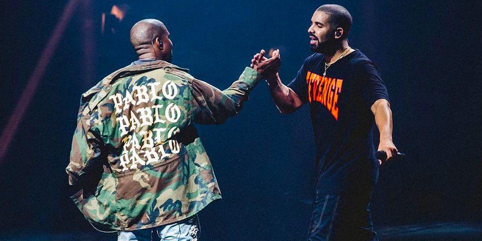 Drake Co Writing Credit On Kanye S Yikes Track Kanye West Drake Kids Drakes Album