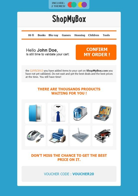 ShopMyBoxstampliahtmlemailtemplatetransactional – Confirmation Email Template