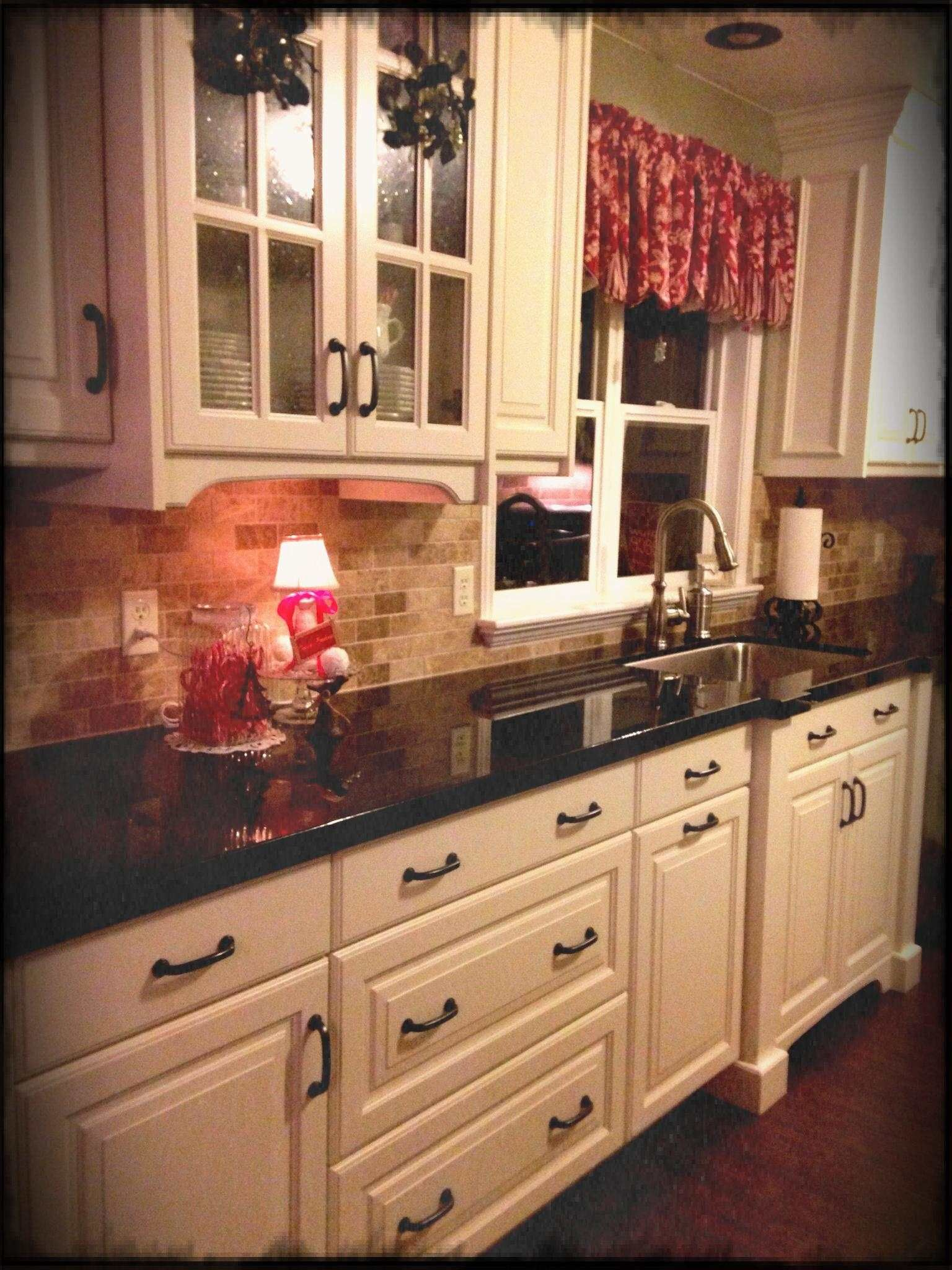 dark cabinets and dark floors pictures 2020 in 2020 antique white kitchen antique white on kitchen cabinets not white id=12070