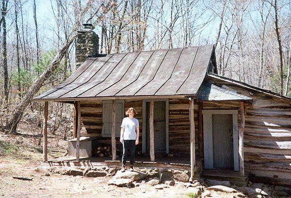 Corbin Cabin On Nicholson Hollow Trail Outside Toilet Cabin House Styles