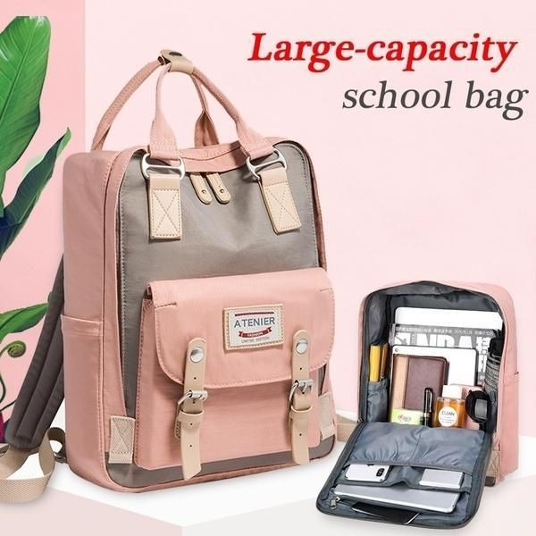 Student's  Large-Capacity Student Backpack Comp Backpack #backpacks