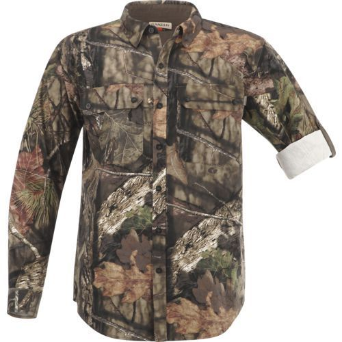 1e1a9510f3 Magellan Outdoors Men's Hill Country Long Sleeve Twill Shirt - Camo  Clothing, Adult Non-Insulted Camo at Academy Sports