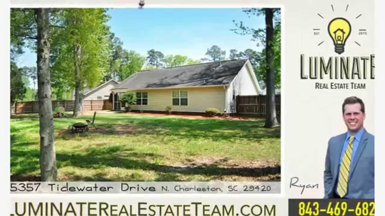 FOR SALE 5357 Tidewater Dr N Charleston SC | Marsh Side Homes For Sale