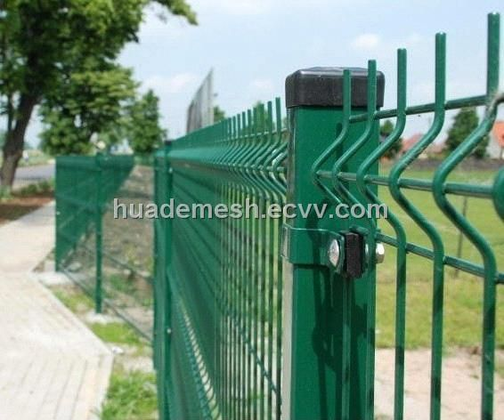 Pvc Coated Wire Mesh Fence Panels Kitchen Garden