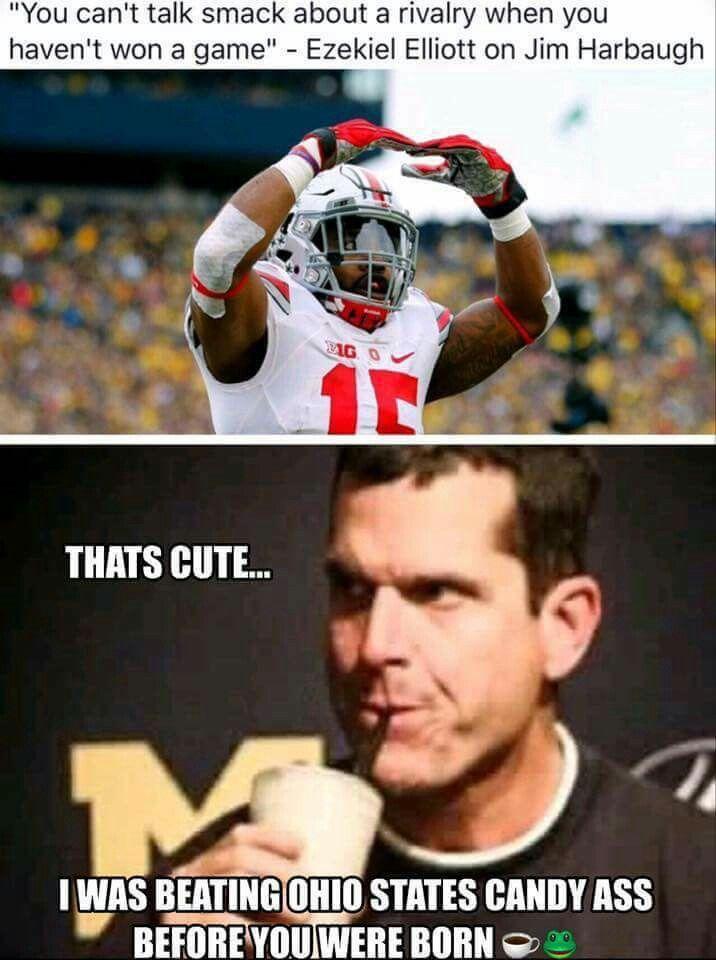 Harbaugh Memes : harbaugh, memes, Sound, Harbaugh, Eating, Those, Words., .😁😂😳, Michigan, Wolverines, Football,