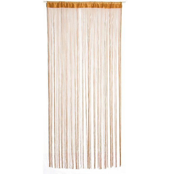 100cm*200cm String Curtain Fringe Panel Room Divider Strip Tassel Line String Wedding Drapery #curtainfringe