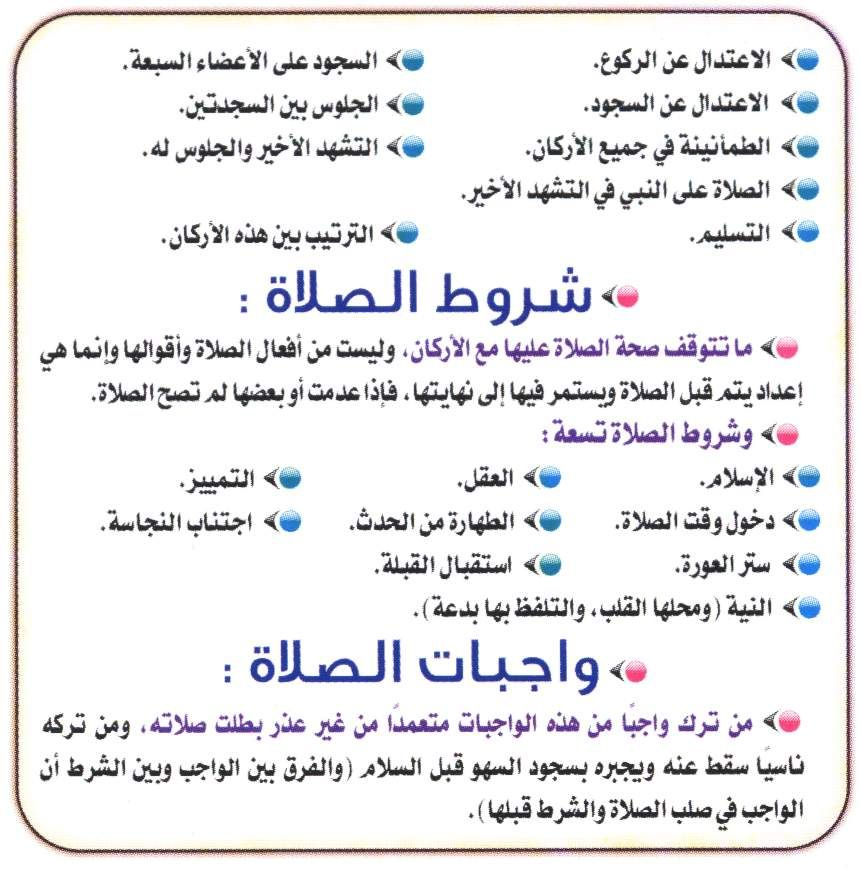 شروط الصلاه واجبات الصلاه Quran Quotes Love Islamic Quotes Islam Facts