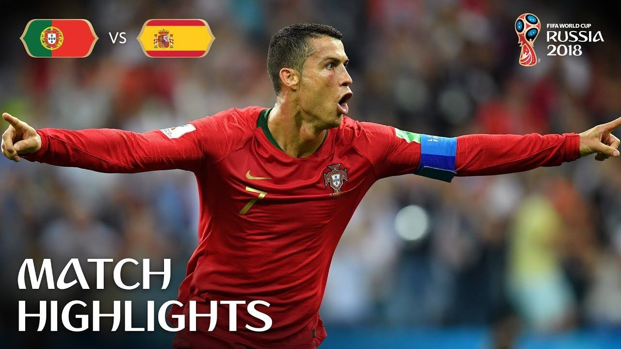 Portugal V Spain 2018 Fifa World Cup Russia Match 3 Youtube Fifa Fifa World Cup World Cup