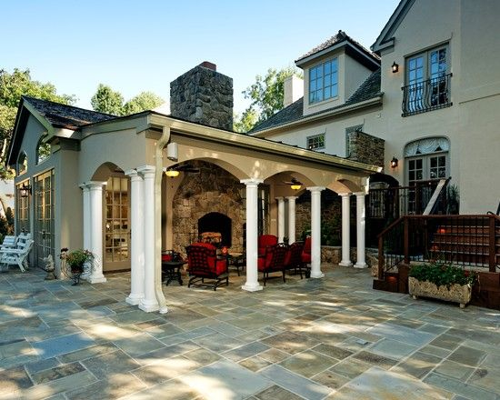 Traditional Patio Covered Patio Design Pictures Remodel