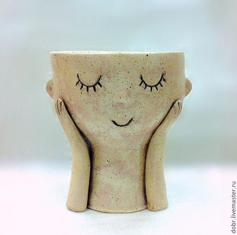 Чаша керамическая Раздумье – заказать на Ярмарке Мастеров – 2Z50LCOM | Скульптуры, Moscow