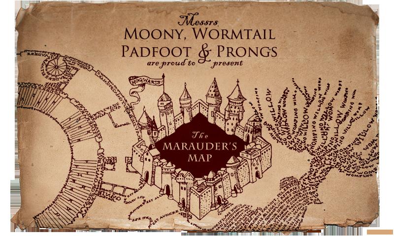 Set Of 3 7cm Harry Potter marauders map Handmade Christmas Baubles