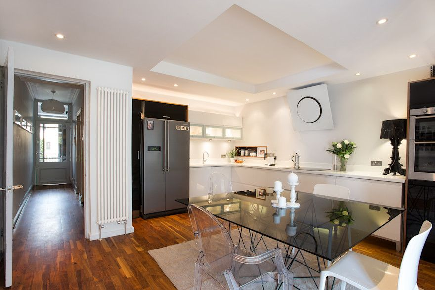 extension and refurbishment of Victorian flat par Urban Creatures Architects | homify