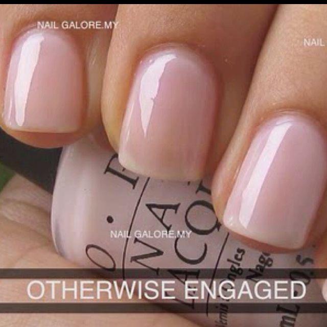 Opi Otherwise Engaged New Favorite Color Nails Opi Nails Nail Polish