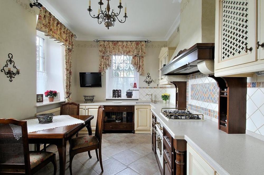 Оформление кухонного окна - фото идей для современной ...