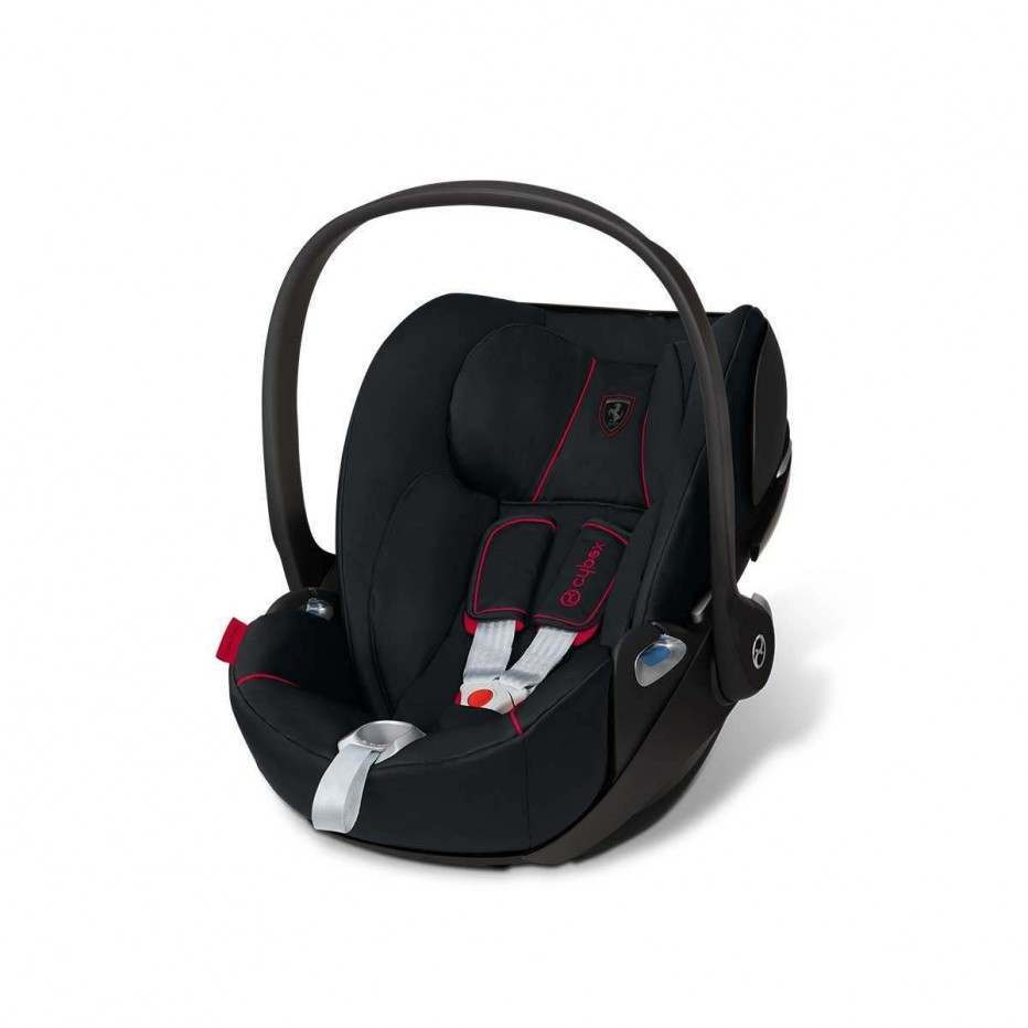 Ferrari by Cybex Black Cloud Z iSize Car Seat Strollers