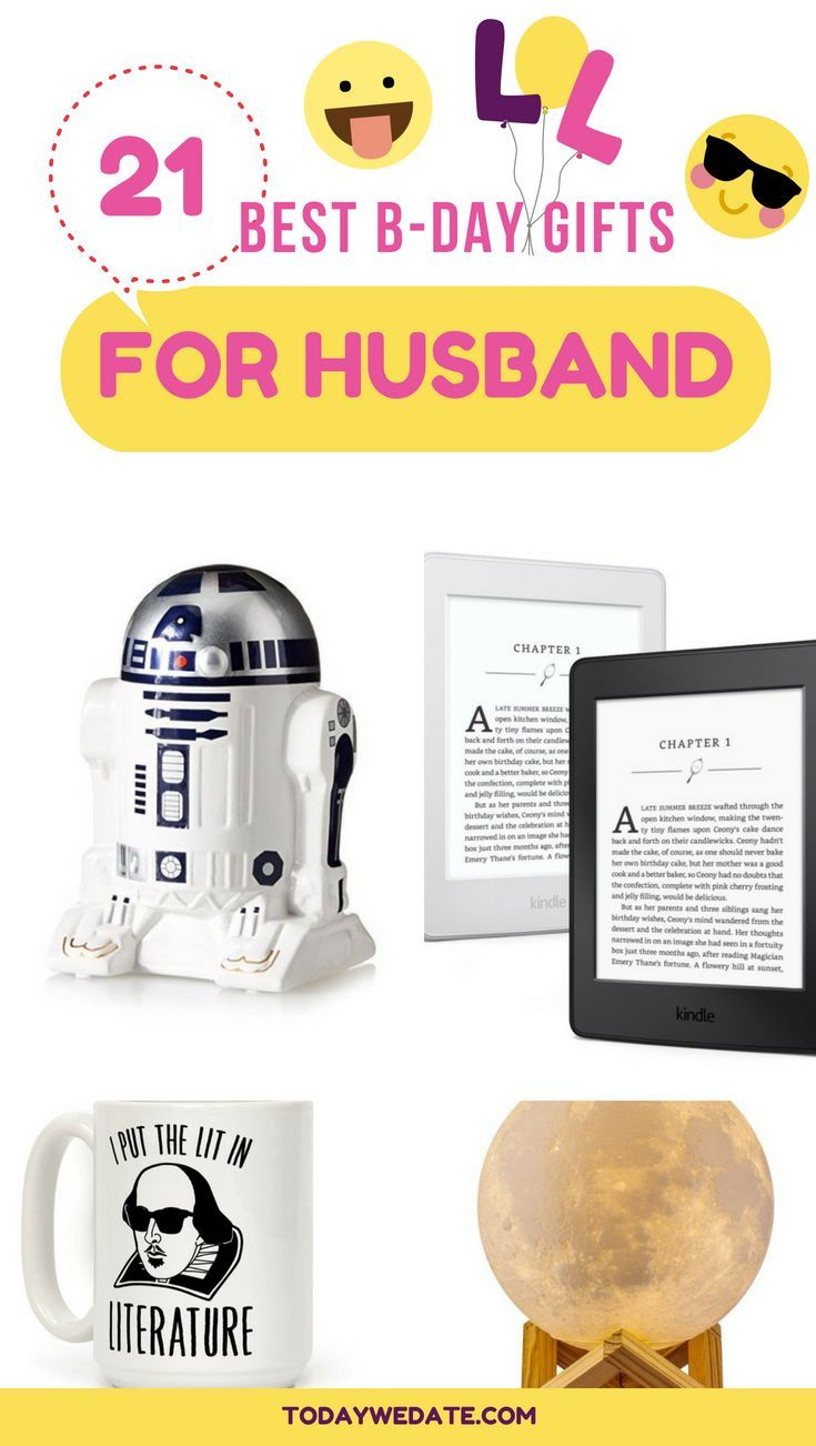 29 heartwarming birthday gifts for husband that has
