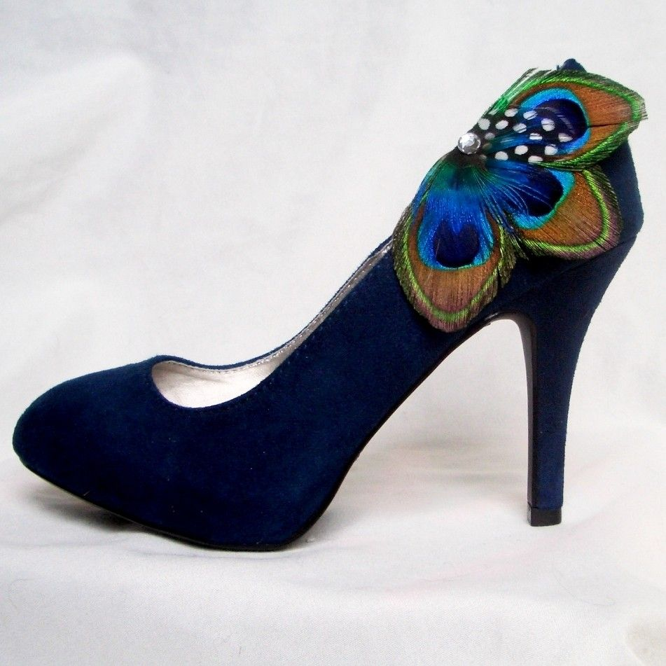 Reserved deposit on custom boutonniere design peacock shoes