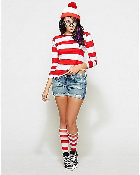 Where's Waldo and Carmen Sandiego | 12 Bomb Dot Com ...  |Waldo 90s Halloween Costumes For Women