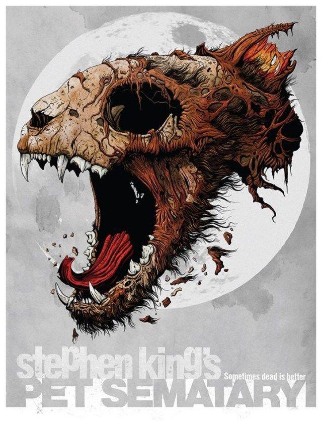 Pin De Yanina Cabrera En Ilustraciones Cementerio De Animales Stephen King It Cementerio De Mascotas