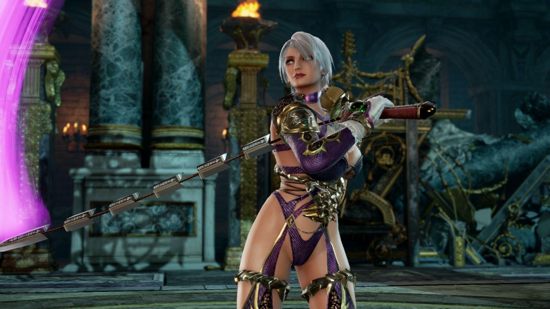 Soulcalibur Vi S 1080p Screenshots Ivy Soul Calibur Game
