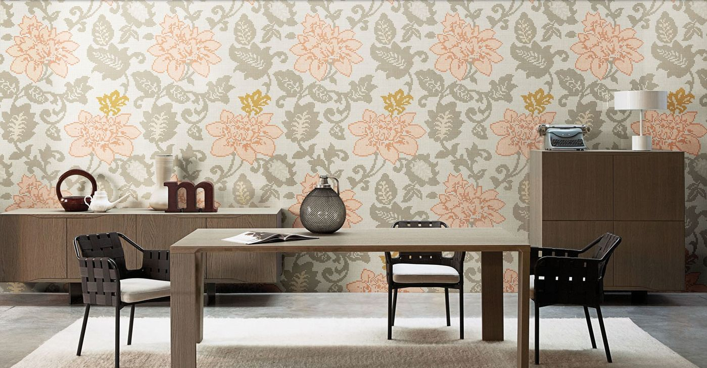 Tiles For Wall Decoration Tile Teams Up With Bisazza