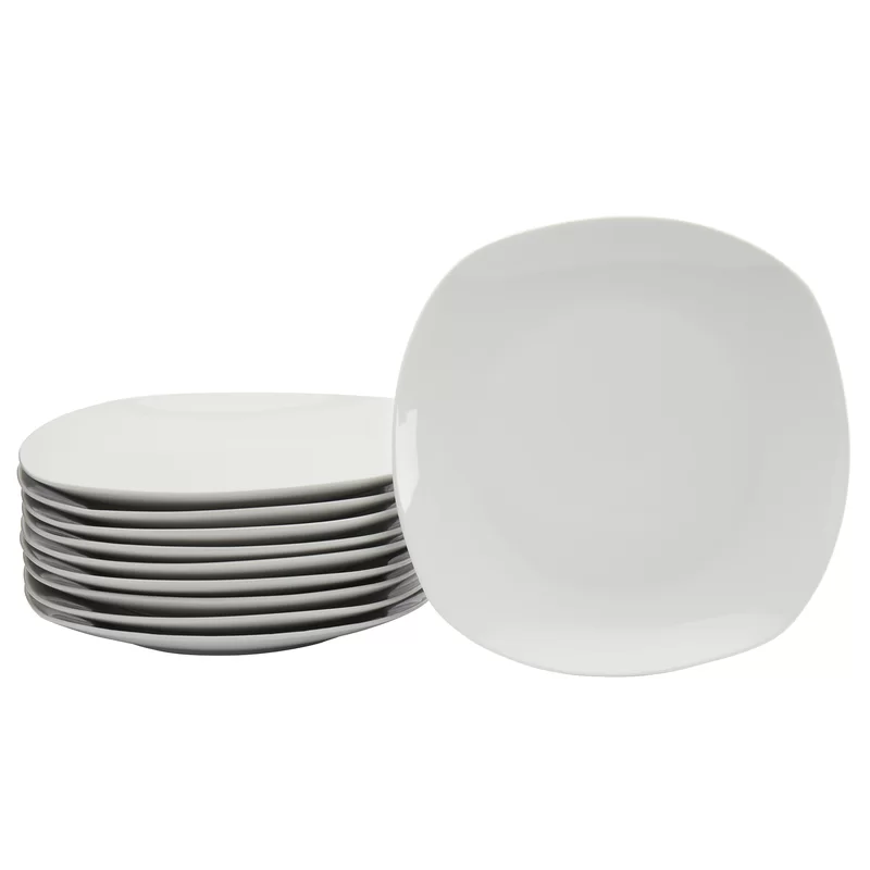 Brixton 10 5 Dinner Plate In 2020 White Dinner Plates Plates Dinner Plates