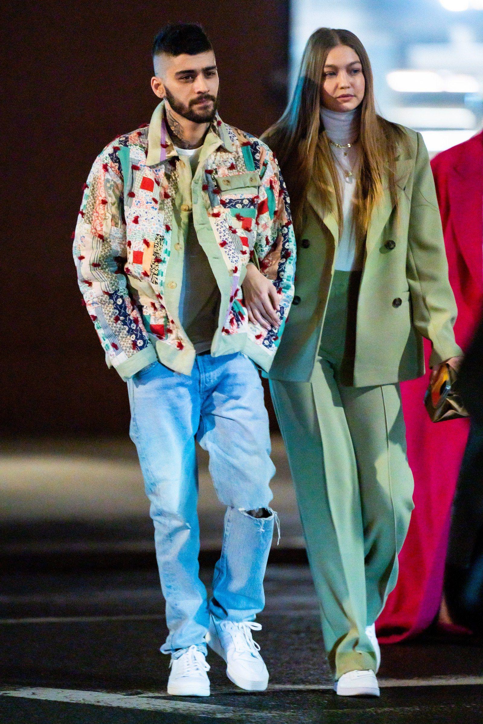 Gigi Hadid and Zayn Mailk Reunite in Style