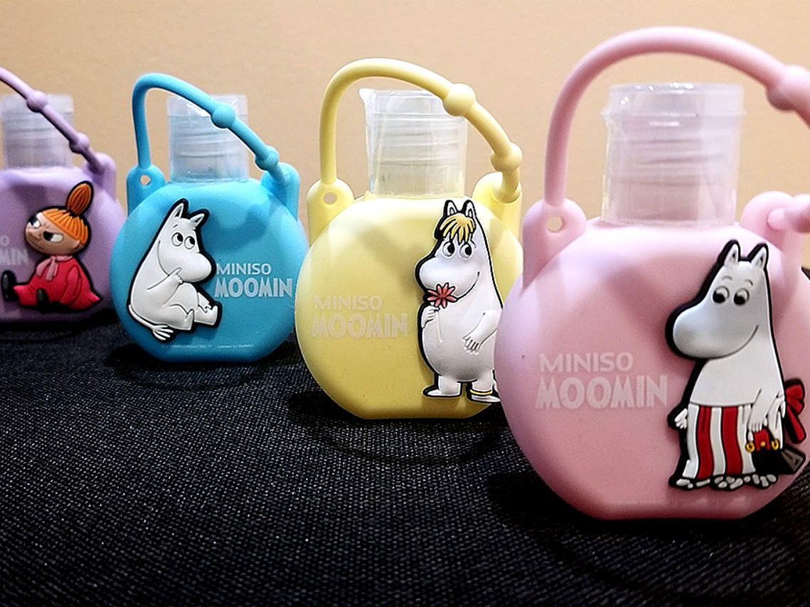 Los Moomin Llegan A Los Productos De Miniso Bolsas Espejos Y