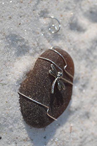 Hand Wire Wrapped Sea Glass Ornament (Dragonfly) DejaVu D... http://www.amazon.com/dp/B00LR01F1U/ref=cm_sw_r_pi_dp_Ymysxb0P2HPY6