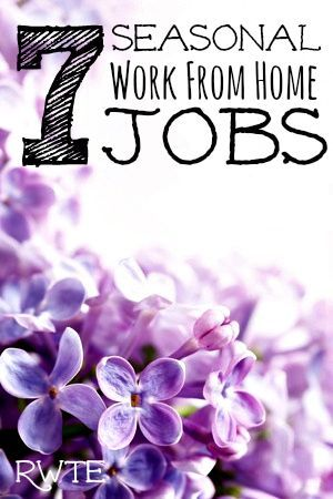 List Of Seasonal Work From Home Jobs Work From Home Jobs