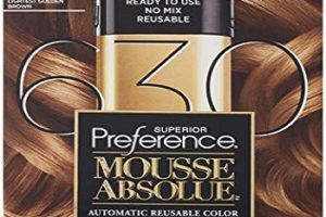 1 Loreal Superior Preference Mousse Absolue Permanent Dye