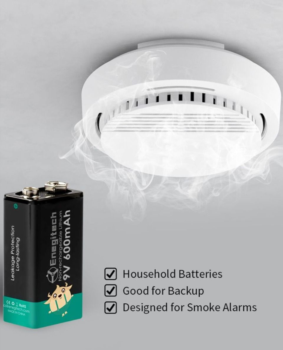 Household Batteries 2020 In 2020 Household Battery Smoke Alarms
