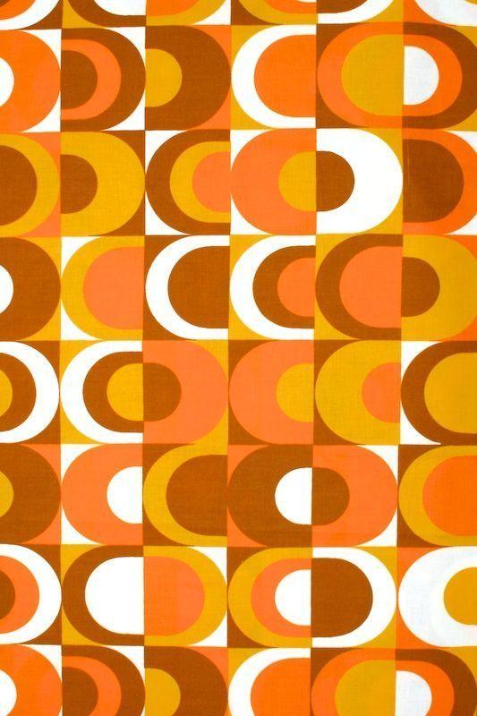70s Dining Orange Cream Google Search Motifs Vintage Pinterest