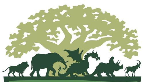 Disney's Animal Kingdom Logo (With images) Animal