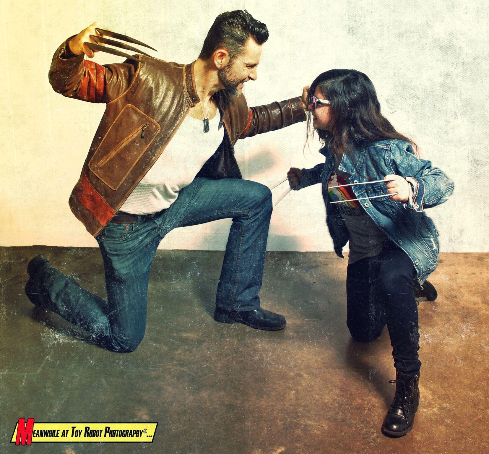 Logan & Laura Kinney X23 cosplay. Wolverine XMen Marvel ...