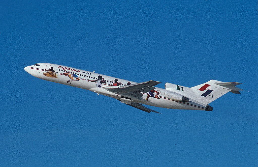 Albarka Air Boeing B727256 飛行機