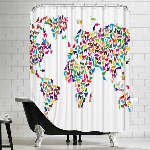 Pin On Shower Curtains Travel