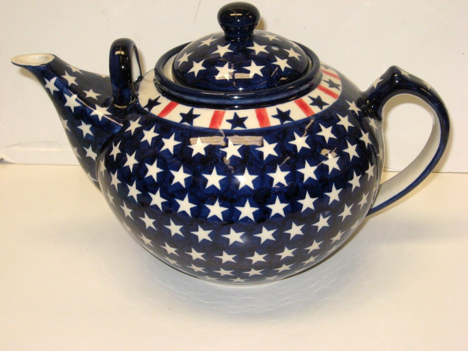 Extra Large Teapot Tea Pots Polish Pottery Pottery