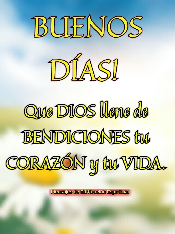Buenos Días Versículos Bíblicos Y Frases Cristianas