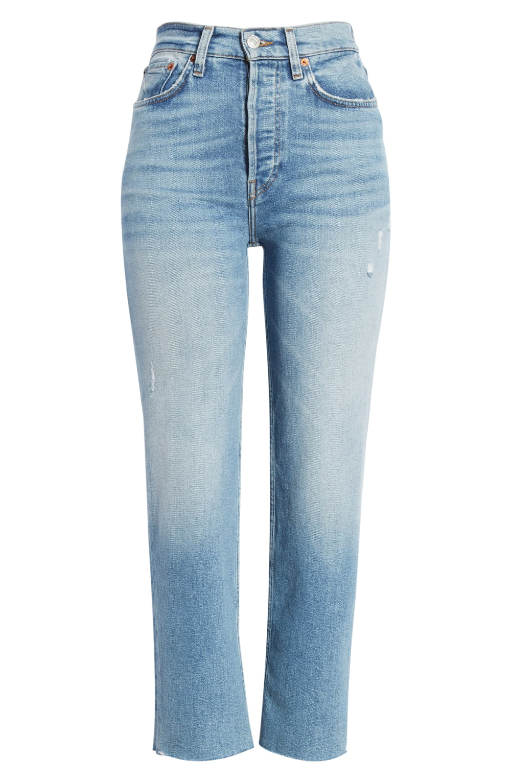Re Done Originals High Waist Stovepipe Jeans Nordstrom In 2020 Stylist Outfit Clothes Denim Fashion