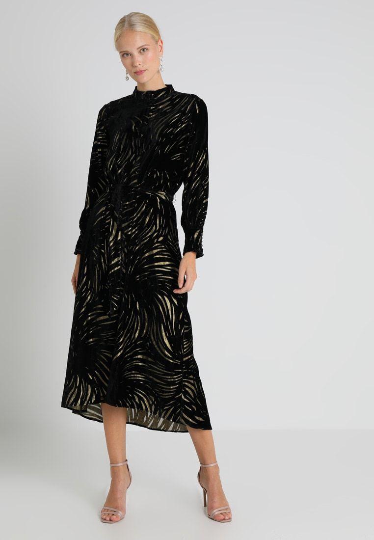 Karen by Simonsen FLOELLA DRESS - Maxiklänning - black - Zalando.se ... fd4e4a3d03e7a
